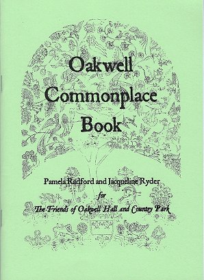 oakwell hall commonplace book